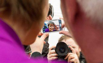 Nicola Sturgeon understand the PR power of selfies