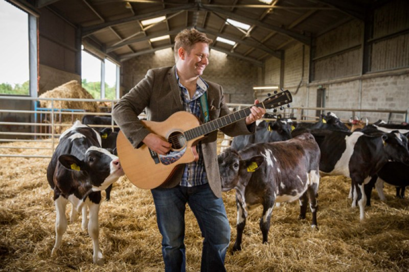 Thursday 12th August 2016, Aberdeen, Scotland. Mackie's sponsorship of the first Doricana Music Festival in Stonehaven 8th October Pictured: Colin Clyne, Songwriter/Musician (Photo: Ross Johnston/Newsline Media)
