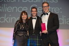 Successful Holyrood PR team collect gold PR award