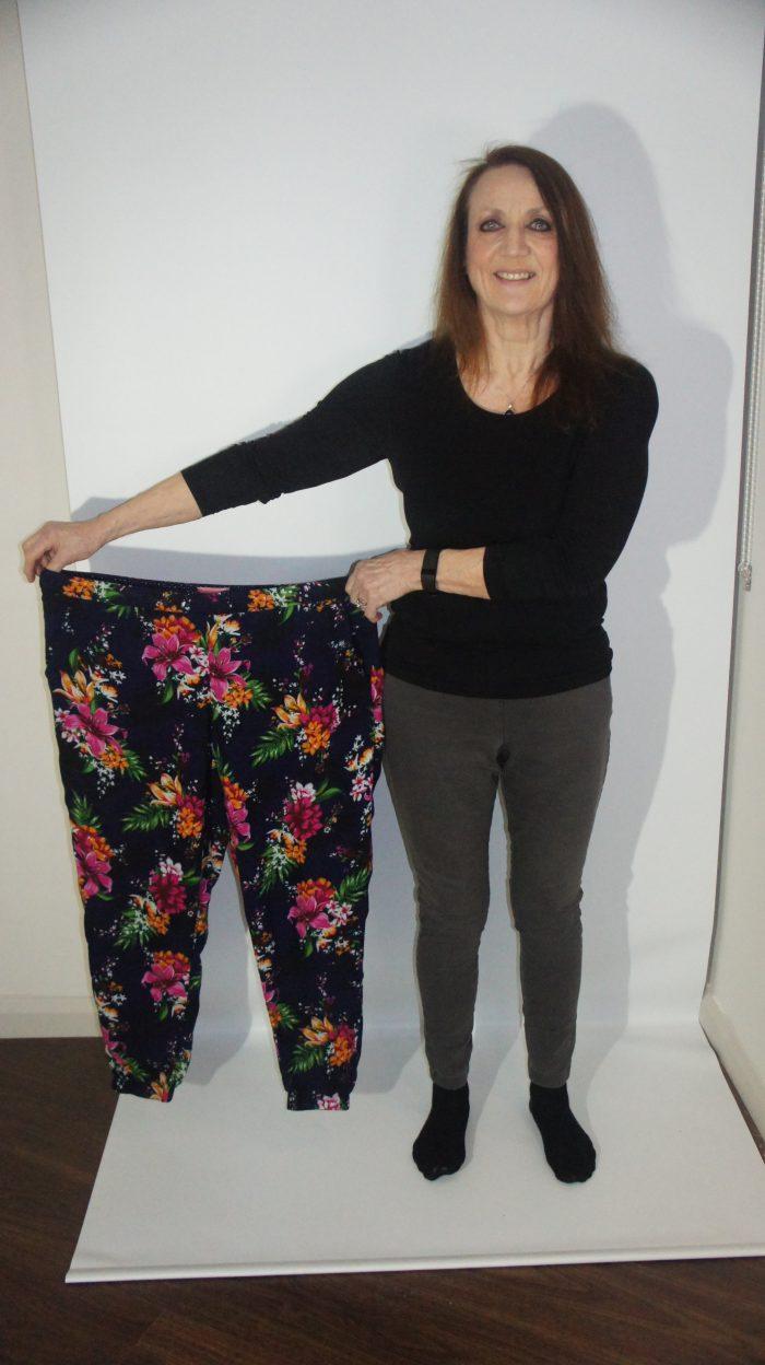 Moyra's clothes before - Edinburgh PR