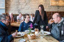Restaurant PR photography at Maison Bleue