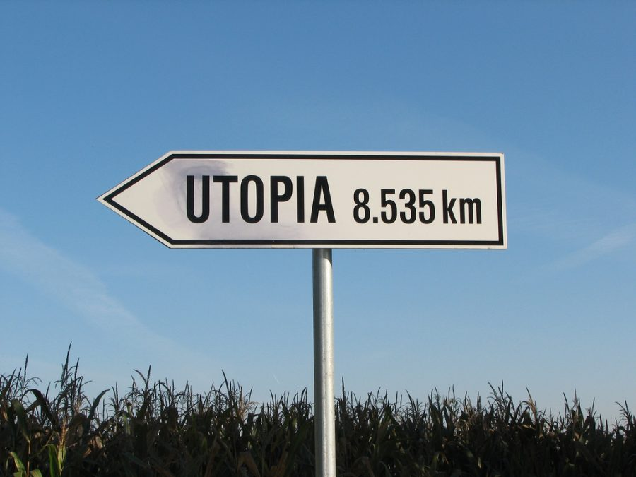 Utopia sign used by PR Evaluation experts