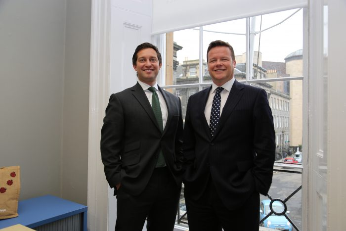 Gilson Gray associates after award win, told by Edinburgh PR Agency