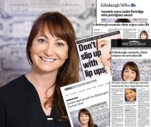 Jackie Partrdige of Dermal Clinic with successful hair and beauty PR coverage