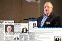 Coverage spread from PR Consultants Scotland