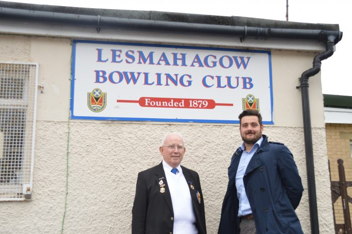 Successful PR agency lesmshagow bowling club bill brown treasurer and lewis stokes