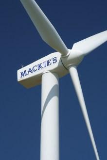 Mackie's wind turbine
