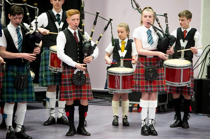 Scottish Schools Pipeband Championships Scottish PR Agency