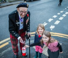 Edinburgh-born war veteran Tom Gilzean