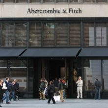 Abercrombie & Fitch store NYC New York Scottish PR agency