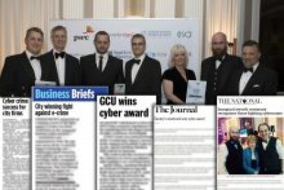 Cyber Awards montage from Coverage montage from Award-winning PR