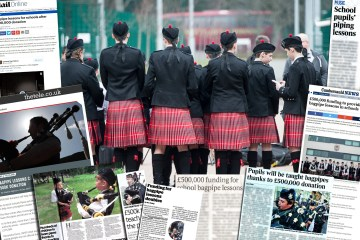 Scottish Schools Pipeband Championships told through a PR agency in Edinburgh
