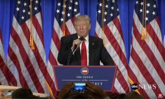 Trump conference