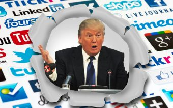 Donald Trump Social Media and Digital PR