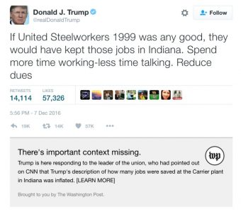 Donald Trump Tweets and Digital PR