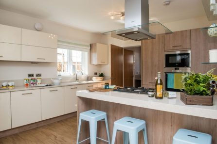 PR Photos of a Law Gardens showhome kitchen