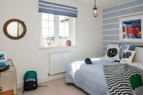 PR Photos of a Law Gardens showhome double bedroom