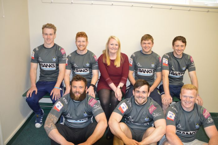 Hawick Rugby Club are sponsored by Banks Renewables who are represented by Scottish PR Agency, The Holyrood PR
