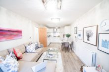 Living Room at Dalmeny Park Apartments, South Queensferry is captured by PR Photography