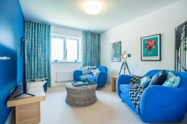 CALA Homes' Kinleith Mills Living Room as shown by PR Photgraphy