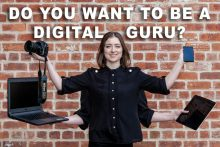 PR Photography feature image featuring digital guru