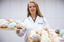 30 Flavours of ice cream for Royal Hilghland show - food and drink PR photography