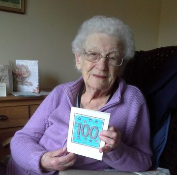 Emily Lyall's 100th by Edinburgh PR