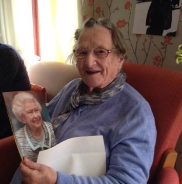 Mary on her 100th Birthday from Scottish PR Agency