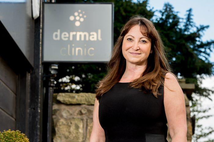 Dermal Clinic's Jackie for Edinburgh PR