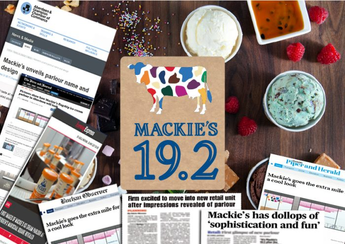 'Mackie's 19.2' gets scoops of coverage as told by Holyrood PR
