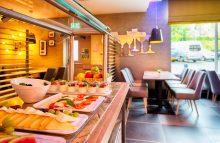 PR photo of the restaurant area at Leonardo Hotel in Edinburgh