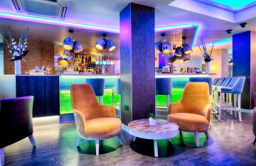 PR photography of the bar area at the Leonardo Hotel in Edinburgh, Scotland for Edinburgh Pr agency, Holyrood PR to use
