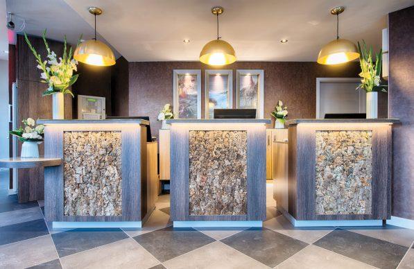 Lobby and reception at Leonardo Hotel in Edinburgh - PR photos for media use