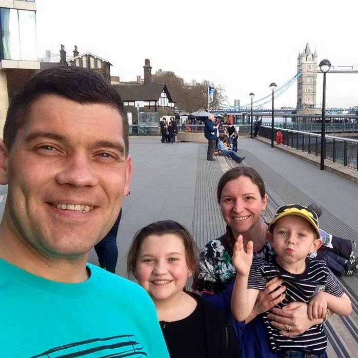 Scott and Karen Purvis, with children Isla and Aaron, have pledged their support for newly named Edinburgh Children's Hospital Charity, client of Edinburgh PR agency Holyrood PR.