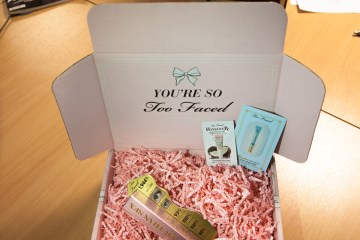 Too Faced Box taken by Scottish PR agency