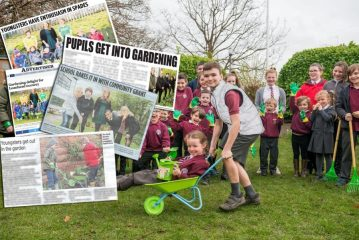 Young Gardener Coverage For Scottish PR Agency Story