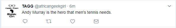 Tweet praises Andy Murray's shutdown of casual sexism