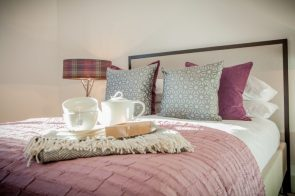 Luxury apartments await at the Walled Gardens in St Andrews. ©Holyrood PR/Wullie Marr