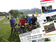 Bield PR Success Coverage on Cyclepaths