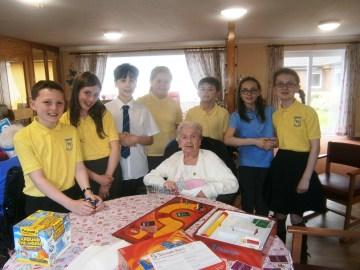 Braemount School Visit picture for Edinburgh PR