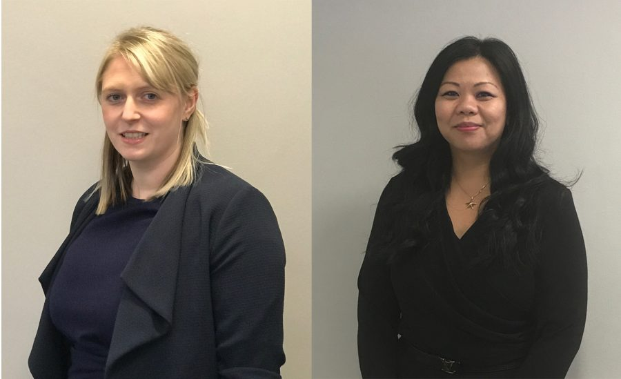 Laura Burns and Shirley Li Ting by Legal PR
