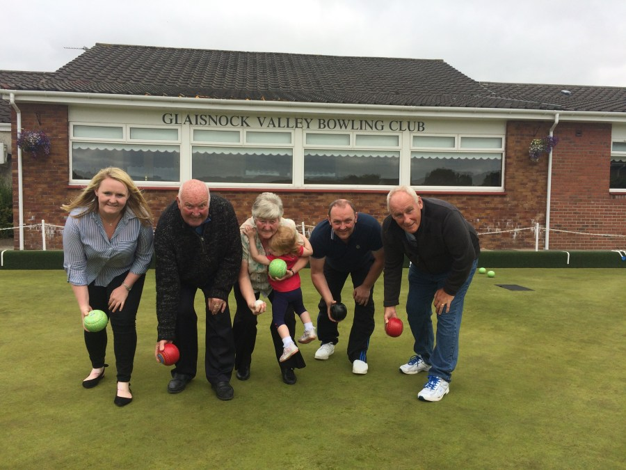 Renewables PR share story of grant for bowling club.