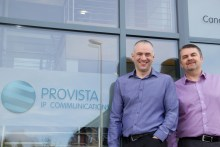 Barry and Stuart from Provista to be share by Scottish PR agency