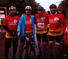 Scott Nelson and Friends at Pedal for Scotland to be shared for Charity PR