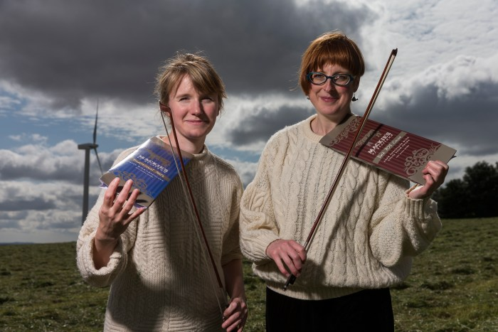 Highland Collective Performers Pose For Food and Drink PR Story