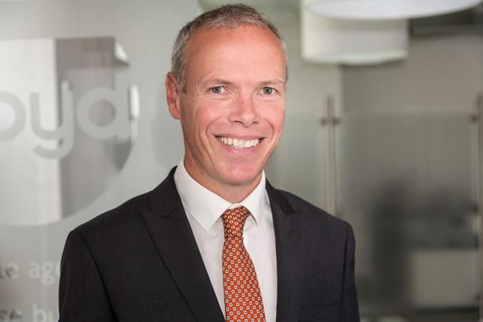 Nigel Geddes at Boyd Legal to be shared by Edinburgh PR