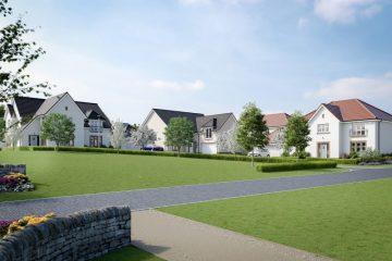Ravelrig Heights, Balerno, Edinburgh launched by CALA Homes Scotland told by Edinburgh PR agency