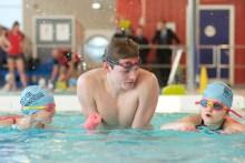 PR photography of Scottis Water swimming ambassador Duncan Scott