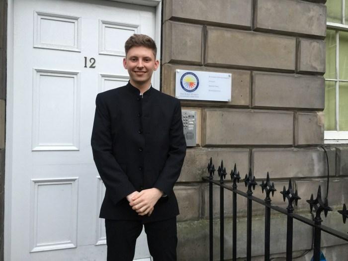 Scott Binnie being shared by Edinburgh PR