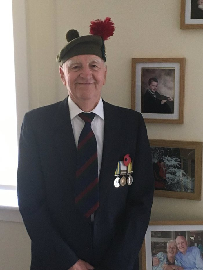 Private Andrew Glassford spoke with our Scottish PR agency about his day at Remembrance Sunday